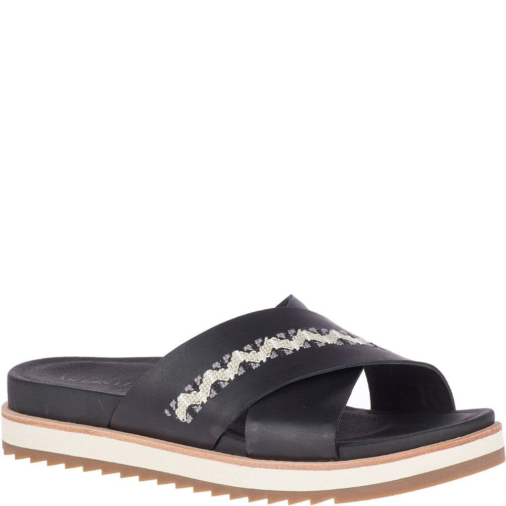 Image for Merrell Women's Juno Slides - Black from bootbay