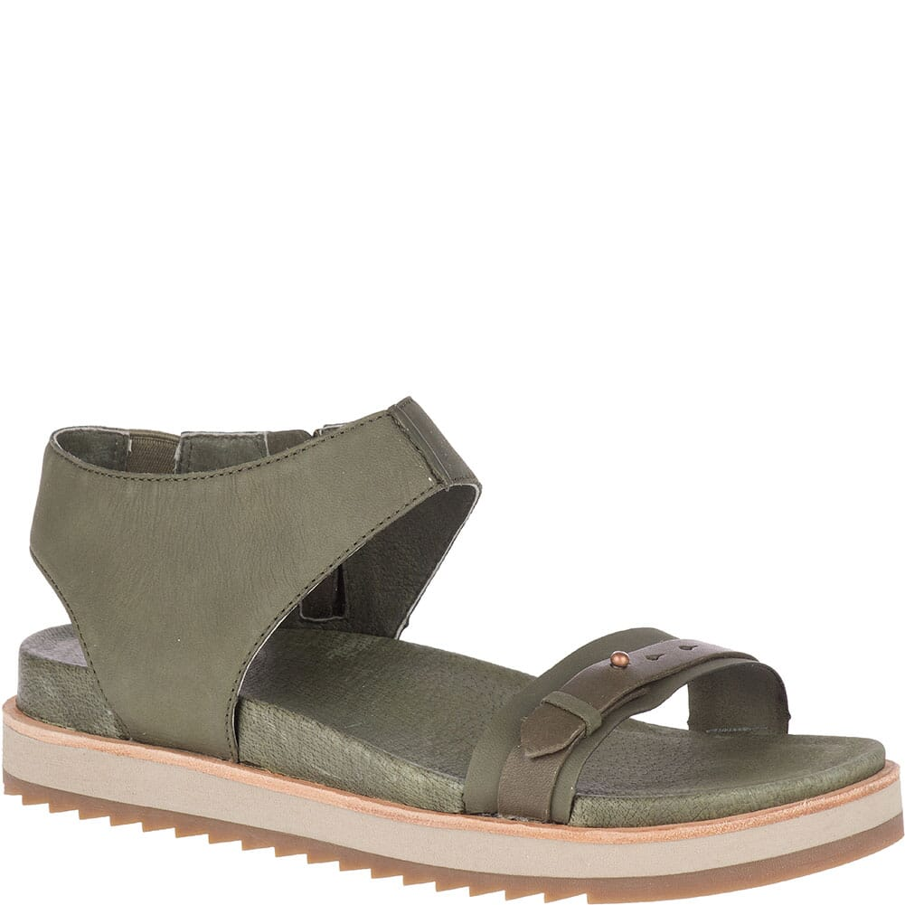 Image for Merrell Women's Juno Mid Zip Sandals - Olive from elliottsboots
