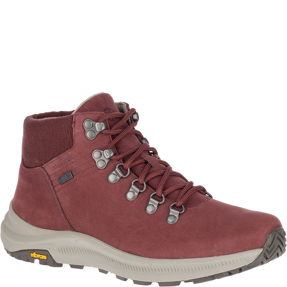 Image for Merrell Women's Ontario Mid WP Hiking Boots - Raisin from bootbay