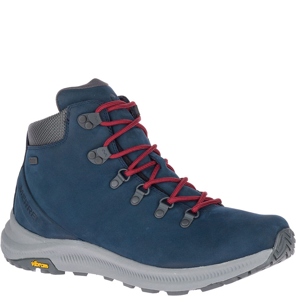 Image for Merrell Men's Ontario Mid WP Hiking Boots - Sailor from bootbay