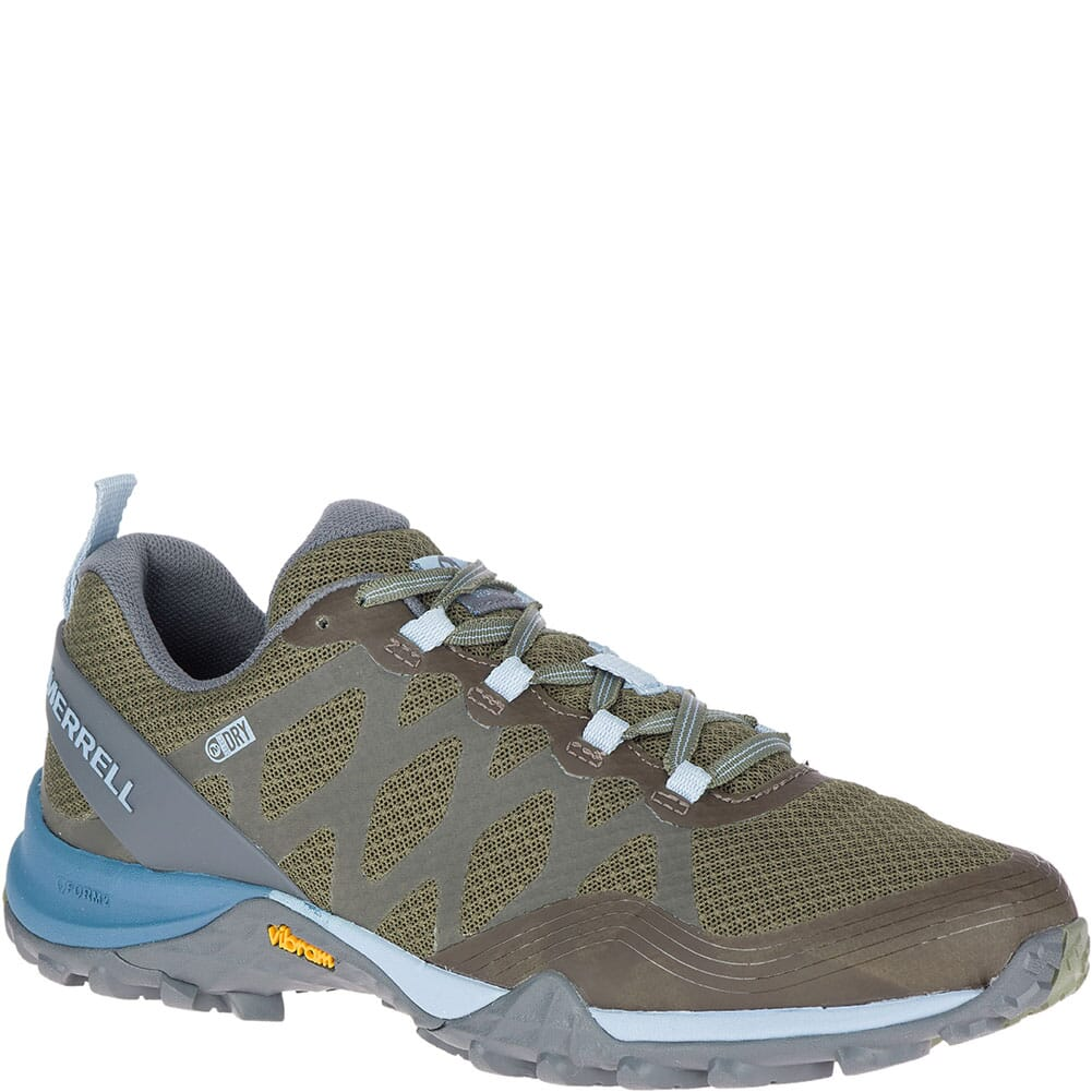 Image for Merrell Women's Siren 3 WP Hiking Shoes - Lichen from bootbay