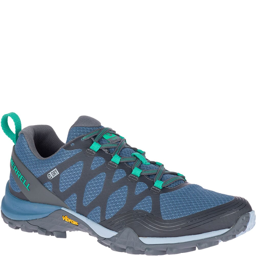 Image for Merrell Women's Siren 3 WP Hiking Shoes - Bluestone from elliottsboots