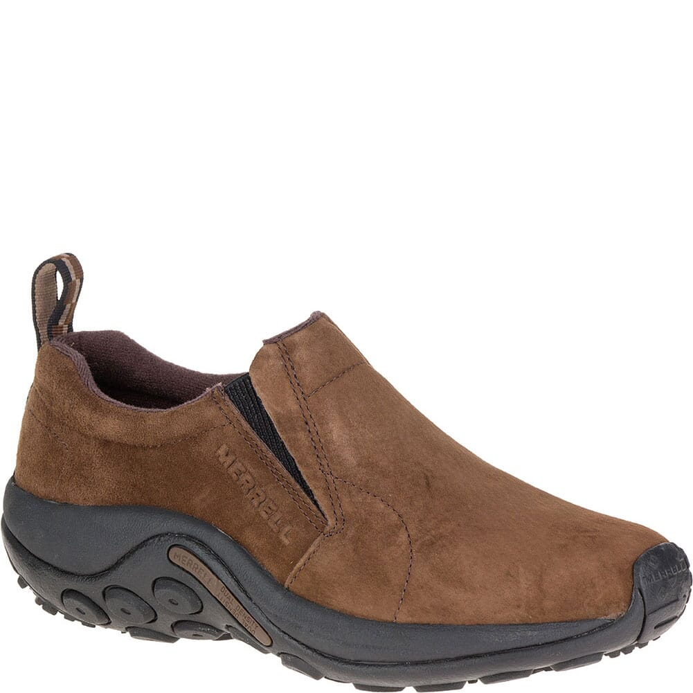 Image for Merrell Men's Jungle Moc Casual Shoes - Dark Earth from bootbay