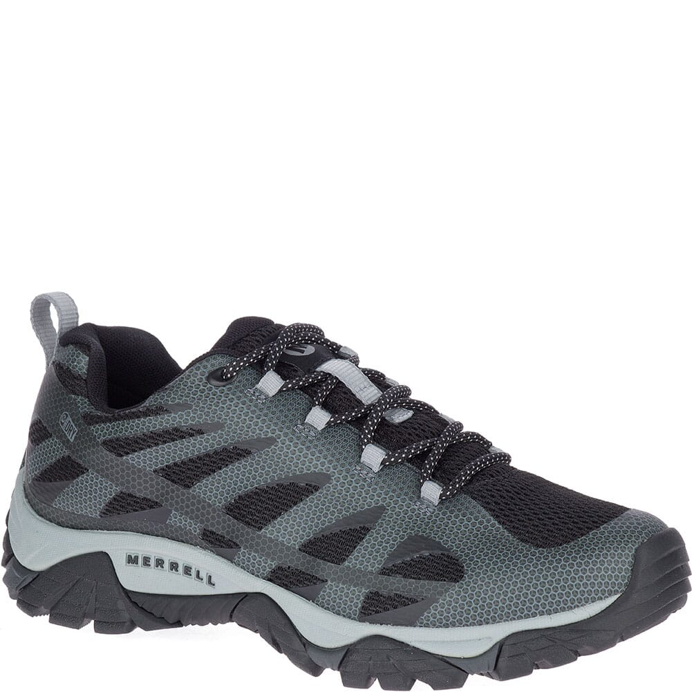 Image for Merrell Men's Moab Edge 2 WP Hiking Shoes - Black from bootbay