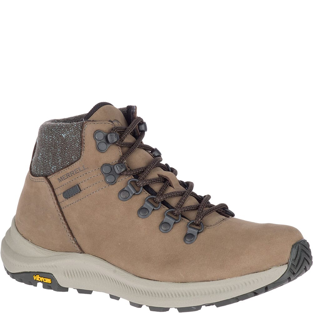 Image for Merrell Women's Ontario Mid WP Hiking Boots - Boulder from bootbay