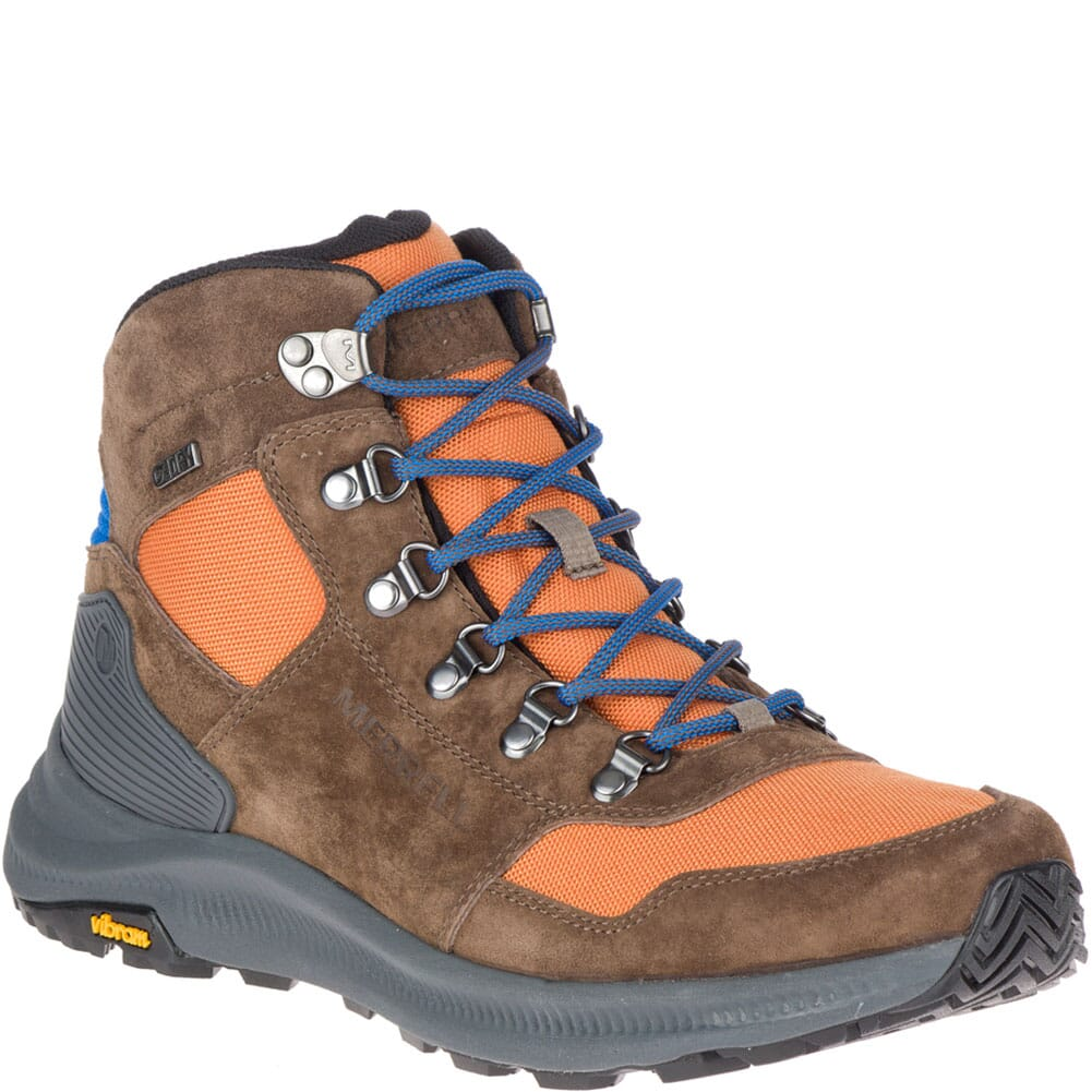 Image for Merrell Men's Ontario 85 Mid WP Hiking Boots - Exuberance from bootbay