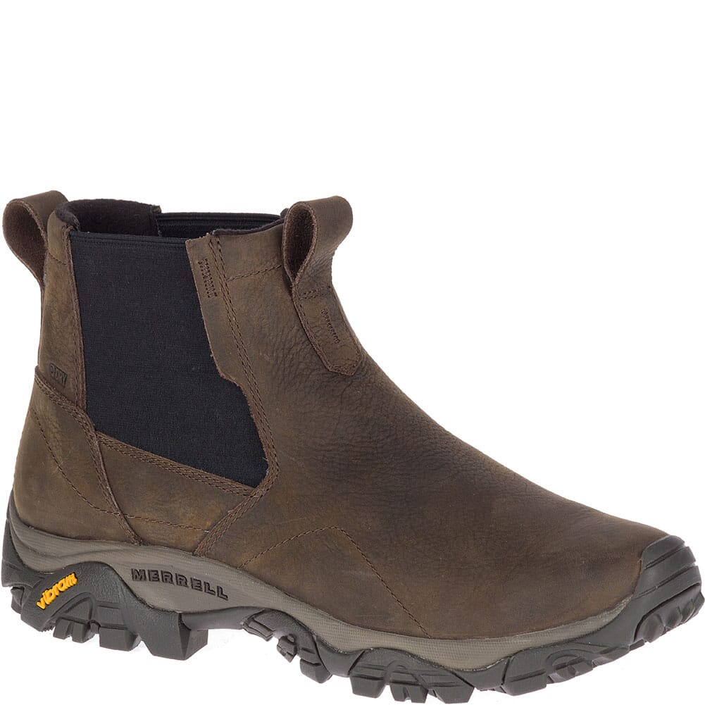 Image for Merrell Men's Moab Adventure Chelsea WP Casual Boots - Brown from bootbay
