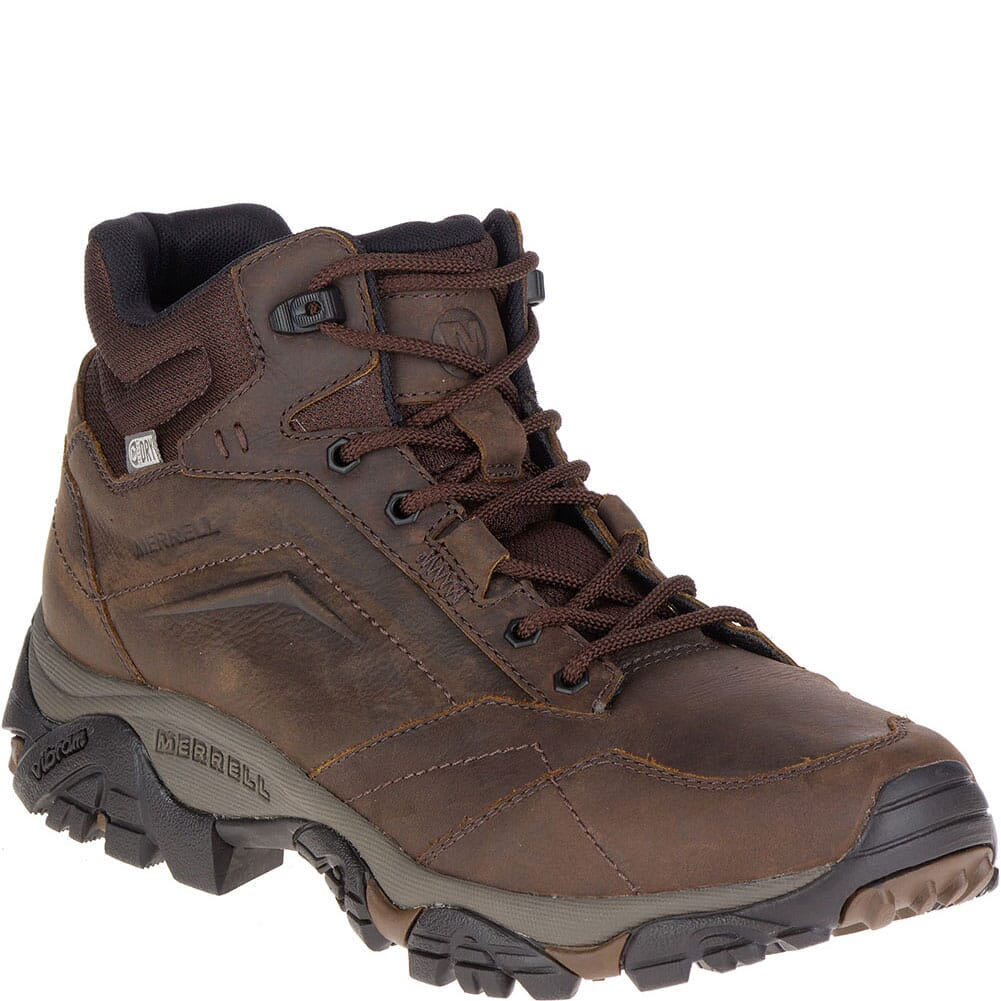 Image for Merrell Men's Moab Adventure Mid WP Wide Hiking Boots - Dark Earth from bootbay