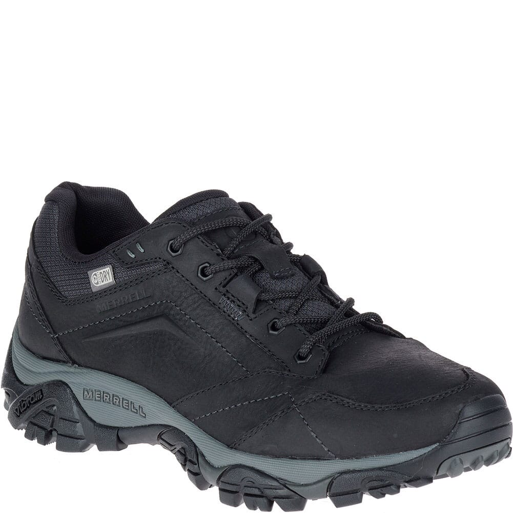 Image for Merrell Men's Moab Adventure Lace Wide Hiking Boots - Black from bootbay