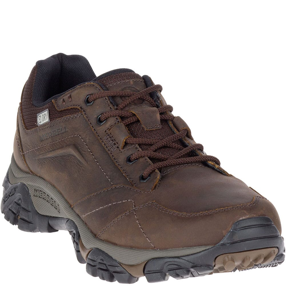 Image for Merrell Men's Moab Adventure Lace WP Wide Hiking Boots - Dark Earth from bootbay