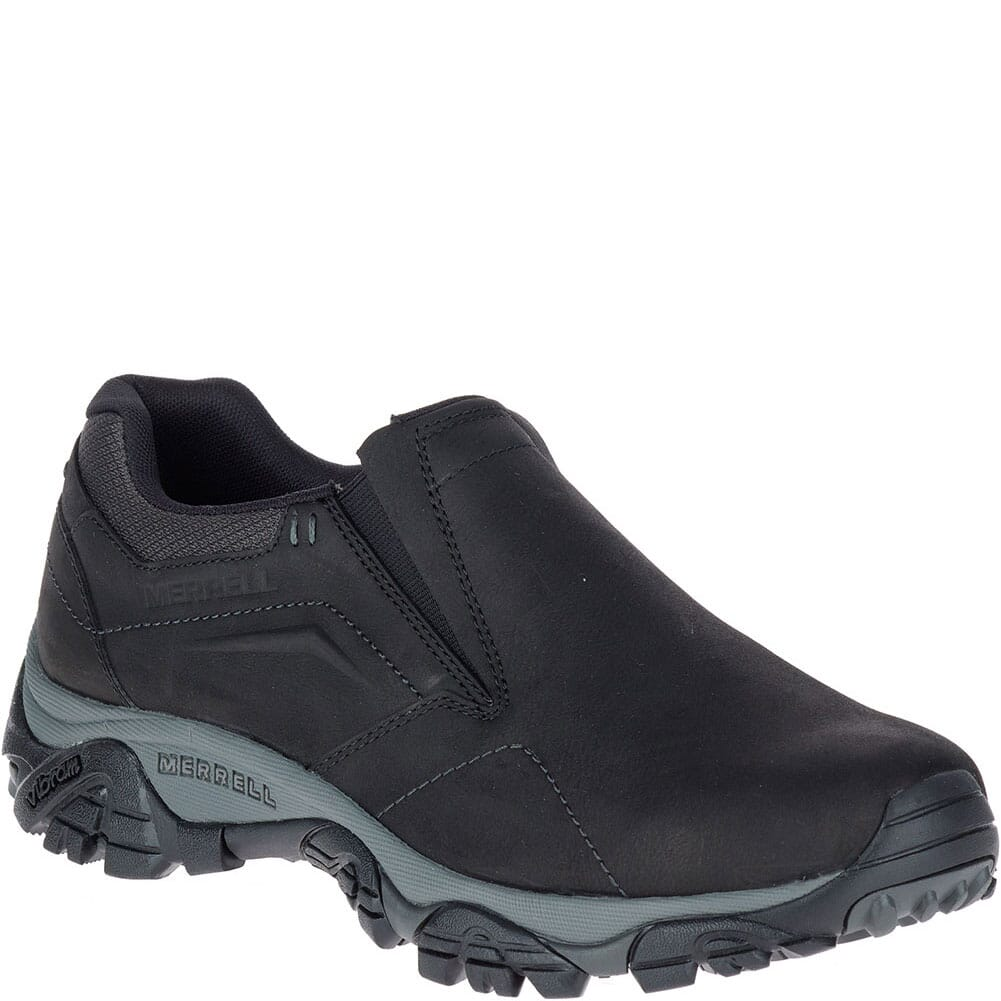 Image for Merrell Men's Moab Adventure Moc Wide Hiking Boots - Black from bootbay
