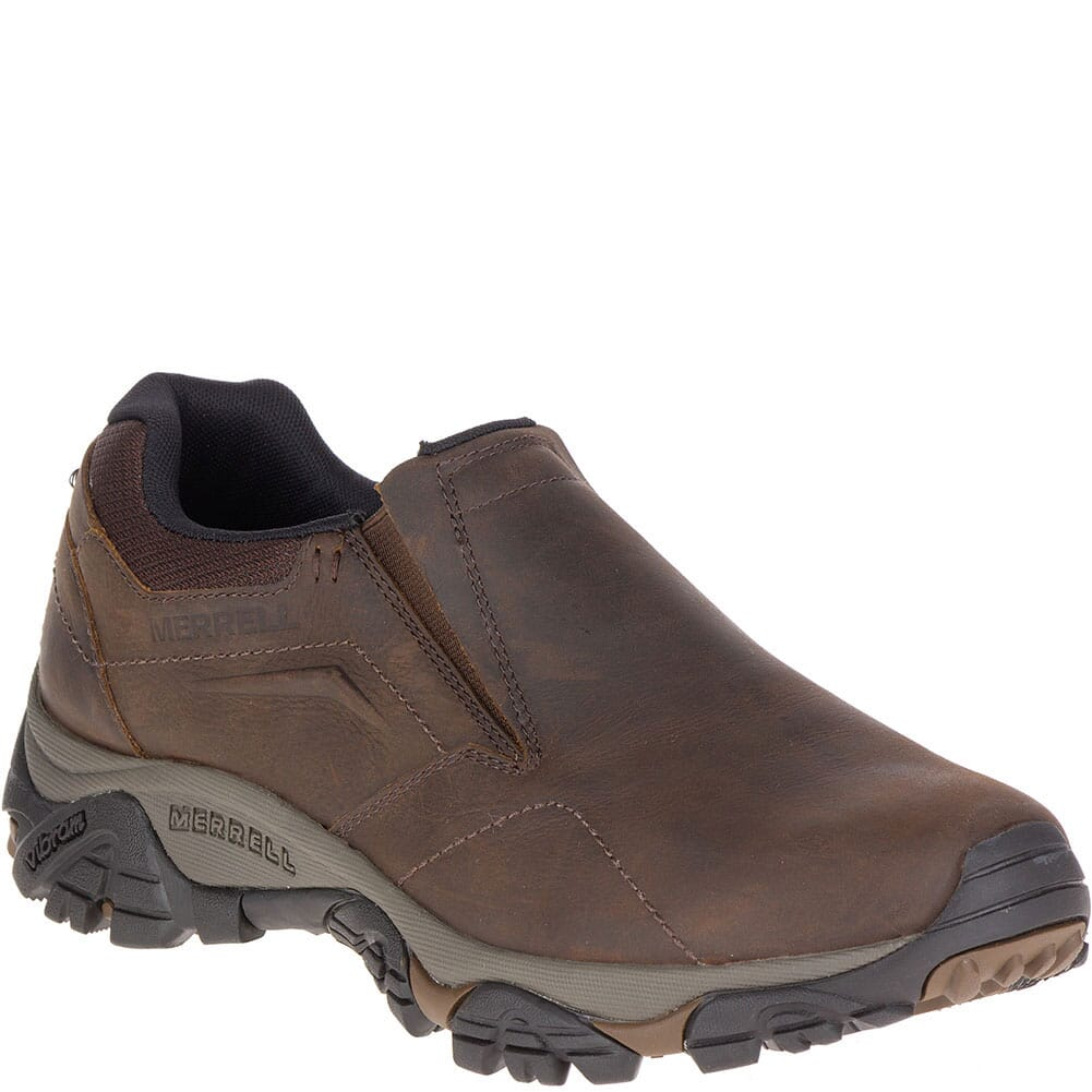 Image for Merrell Men's Moab Adventure Moc WP Wide Hiking Boots - Dark Earth from bootbay