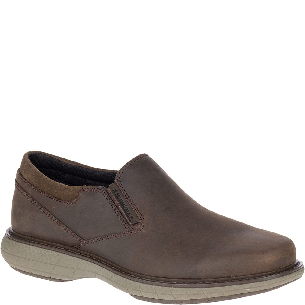 Image for Merrell Men's World Vue Moc Wide Casual Shoes - Black Slate from bootbay