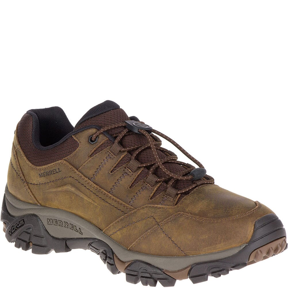 Image for Merrell Men's Moab Adventure Stretch Hiking Shoes - Dark Earth from bootbay