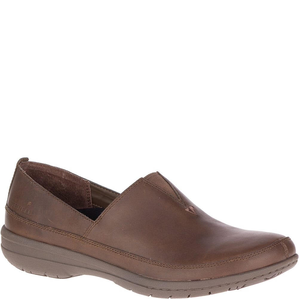 Image for Merrell Women's Encore Kassie Moc Casual Shoes - Dark Earth from bootbay
