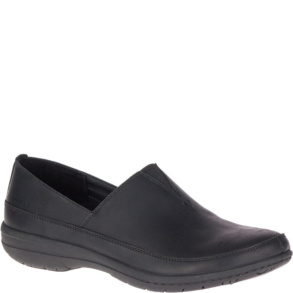 Image for Merrell Women's Encore Kassie Moc Casual Shoes - Black from bootbay