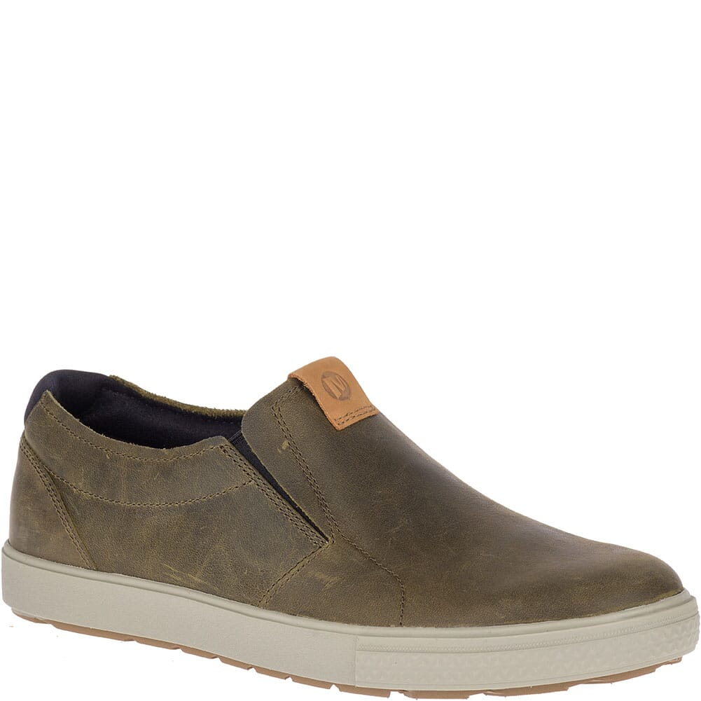 Image for Merrell Men's Barkley Moc Casual Shoes - Dusty Olive from bootbay