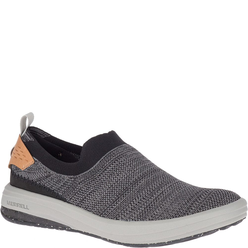Image for Merrell Men's Gridway Moc Casual Shoes - Black from bootbay
