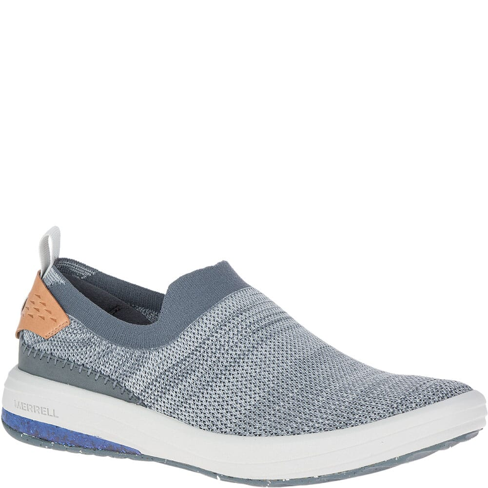 Image for Merrell Men's Gridway Moc Casual Shoes - Turbulence from bootbay