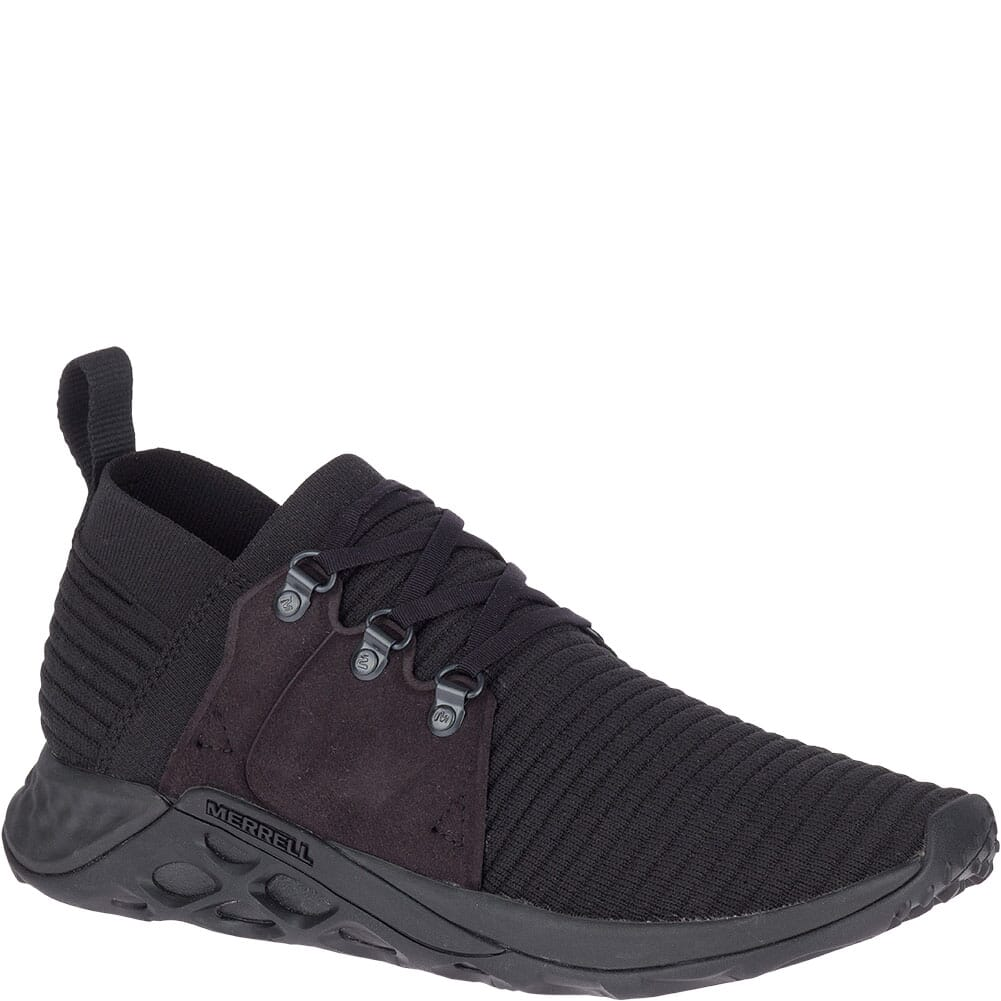 Image for Merrell Men's Range AC+ Casual Shoes - Triple Black from bootbay