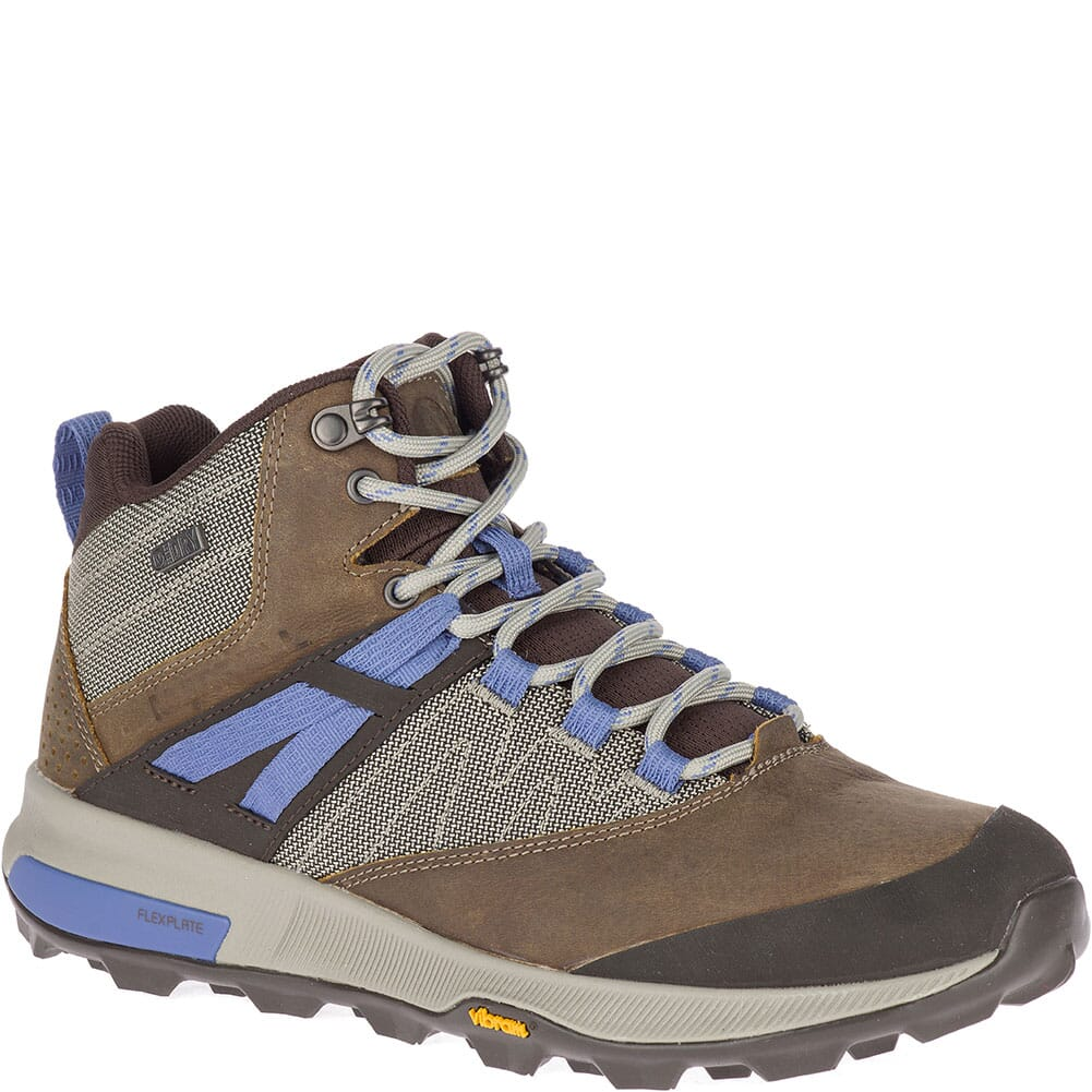 Image for Merrell Women's Zion Mid WP Hiking Boots - Cloudy from elliottsboots