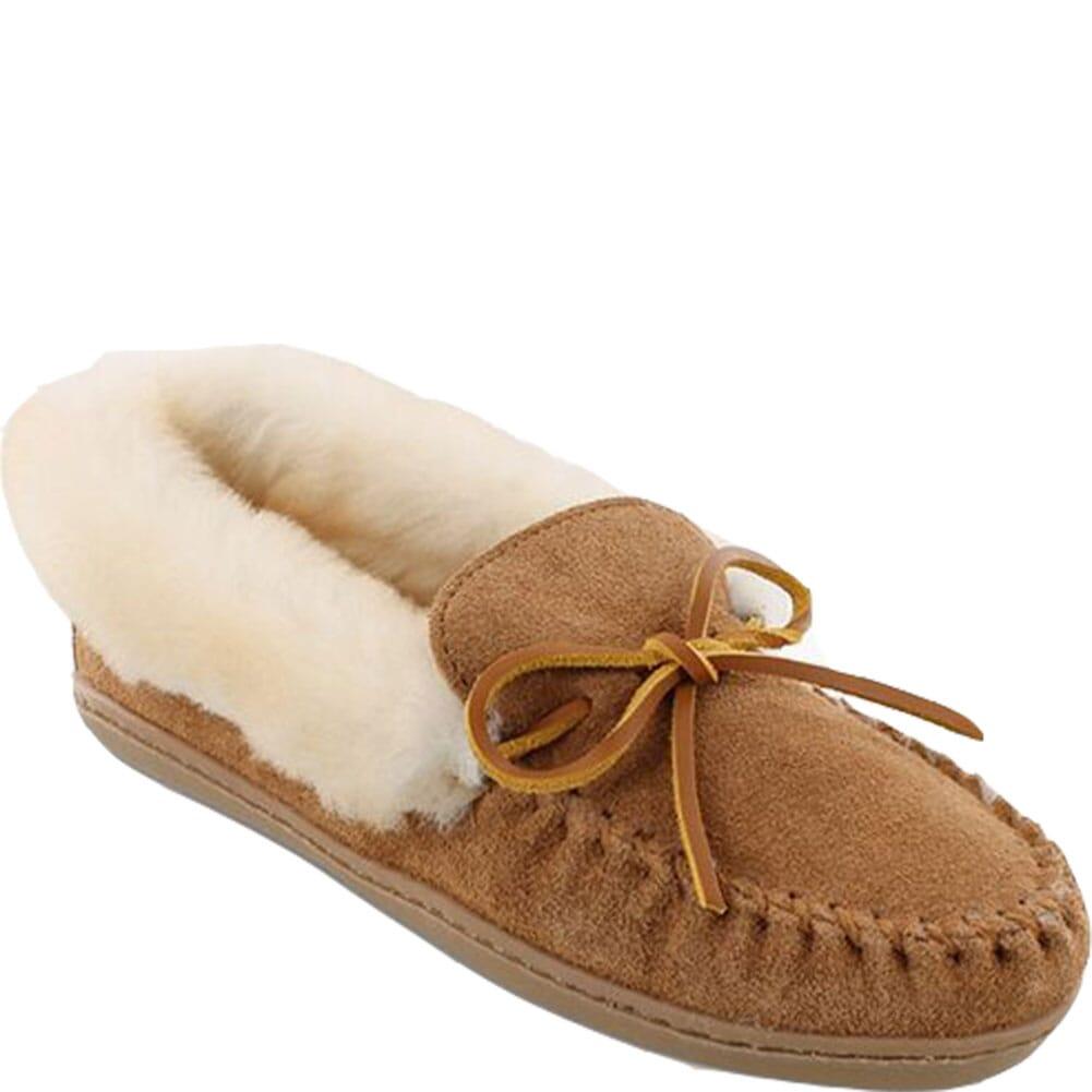 Image for Minnetonka Women's Alpine Sheepskin Moccasins - Tan from bootbay
