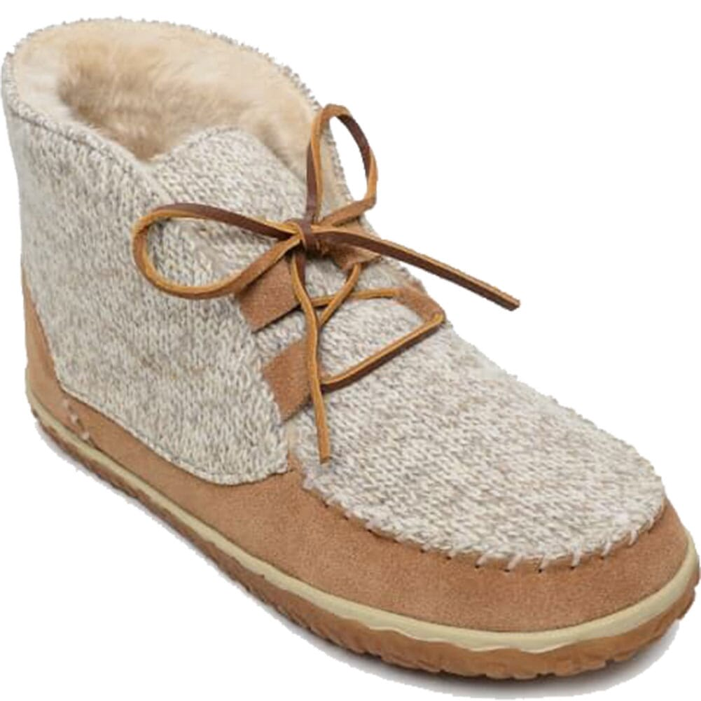 Image for Minnetonka Women's Torrey Sheepskin Moccasins - Cinnamon from bootbay
