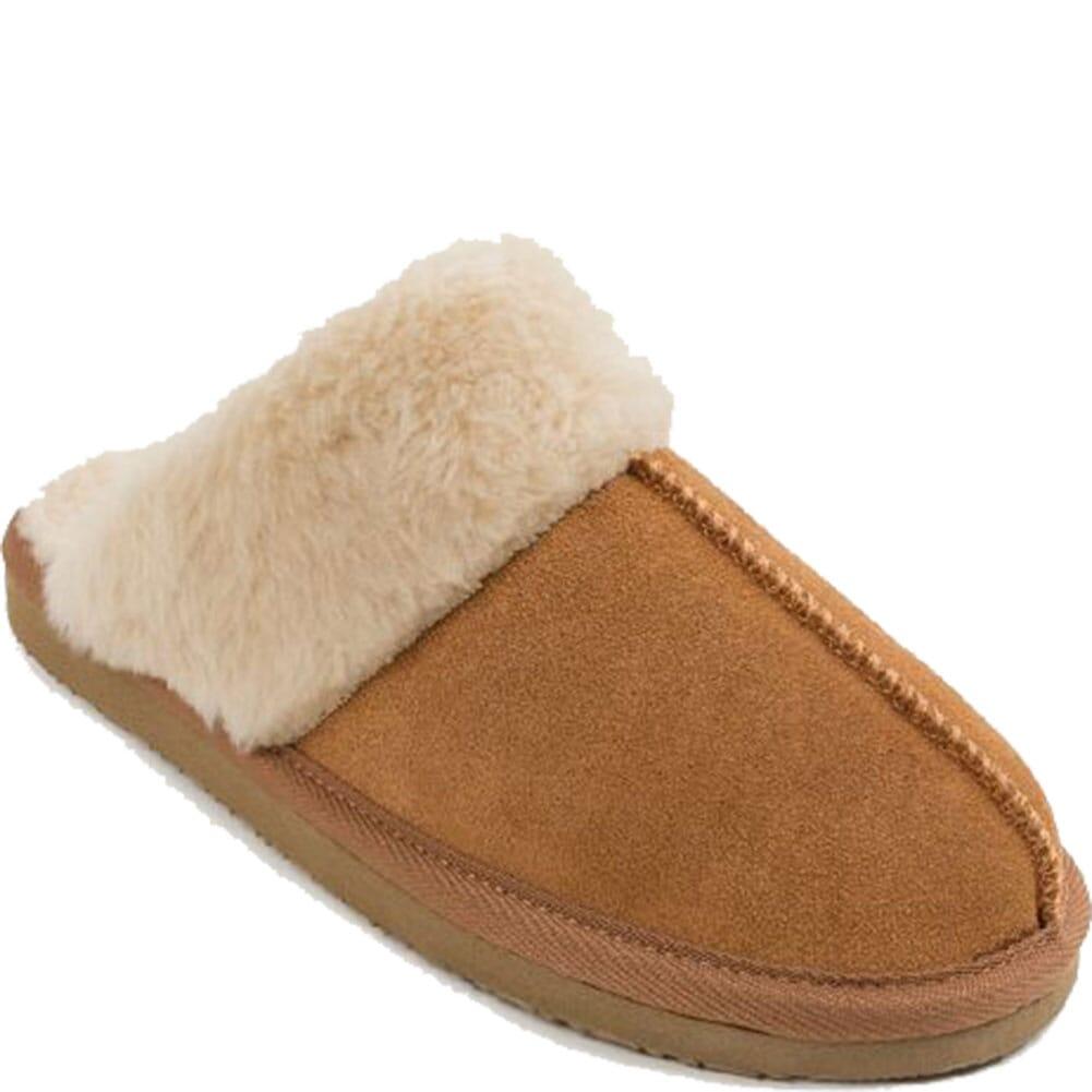 Image for Minnetonka Women's Chesney Moccasin Slippers - Cinnamon from bootbay