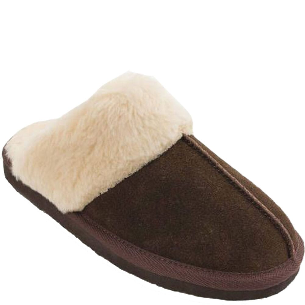 Image for Minnetonka Women's Chesney Moccasin Slippers - Chocolate from bootbay