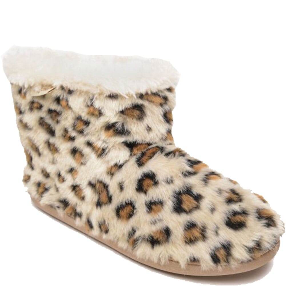 Image for Minnetonka Women's Betty Casual Boots - Cream Leopard from bootbay