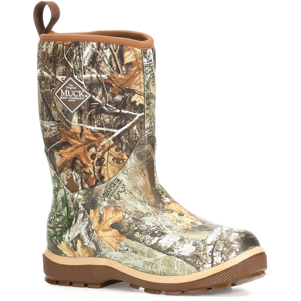 Image for Muck Kid's Elements Rubber Boots - Realtree/Bison/Tan from bootbay
