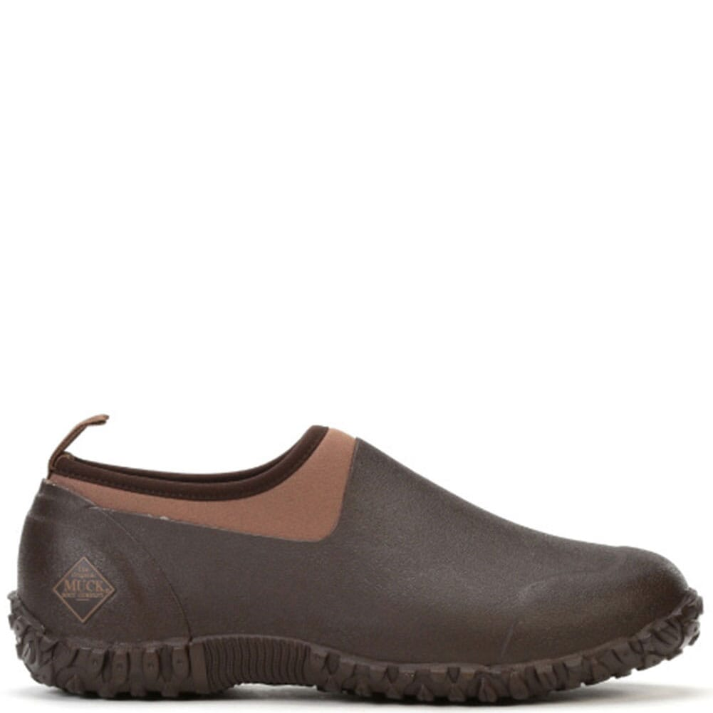 Image for Muck Men's Muckster II Low Rubber Shoes - Bark/Otter from bootbay