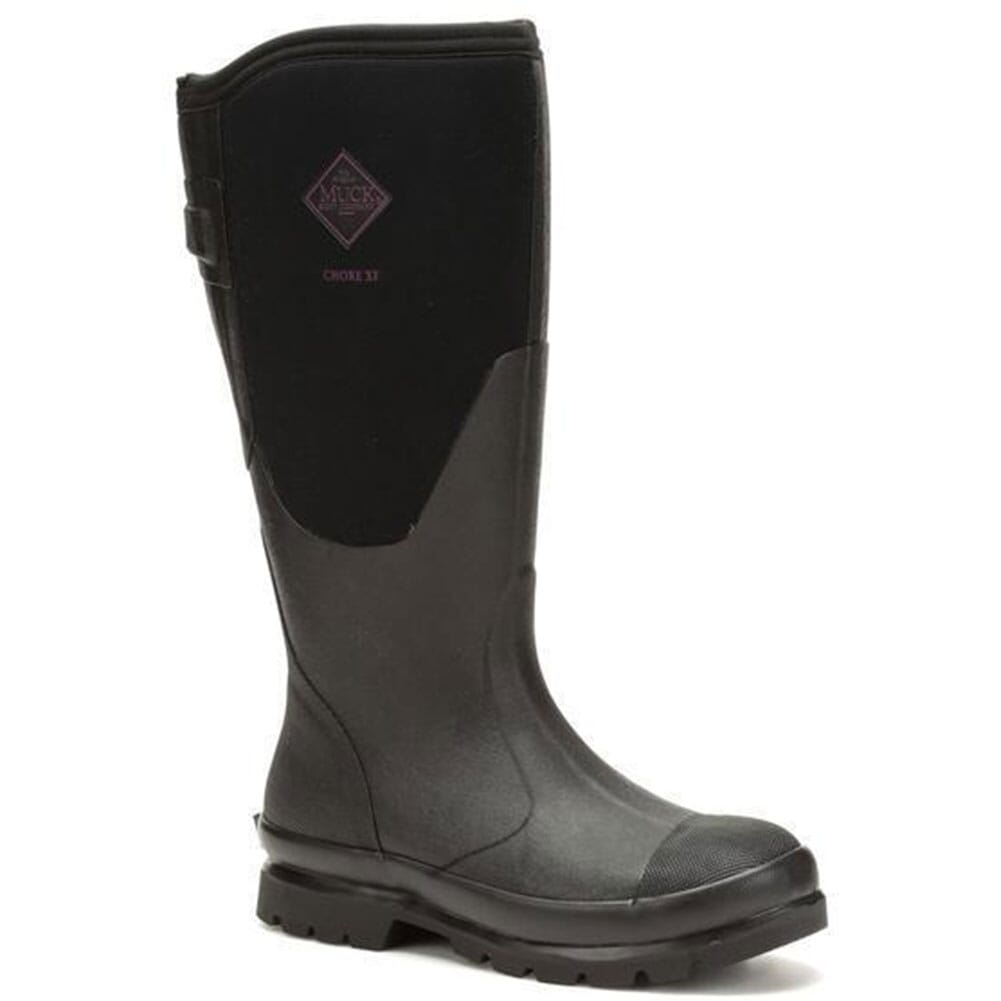 Image for Muck Women's Chore XF Wide Calf Rubber Boots - Black from bootbay