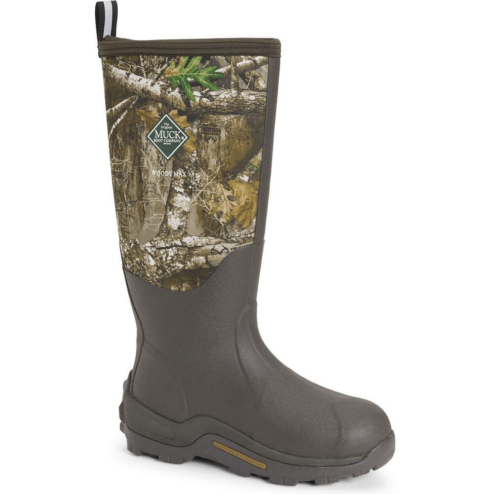 Image for Muck Men's Woody Max RTE Rubber Boots - Brown/Realtree from bootbay