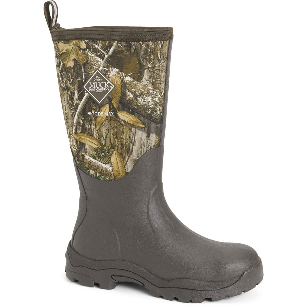 Image for Muck Women's Woody PK RTE Rubber Boots - Brown/Realtree from elliottsboots