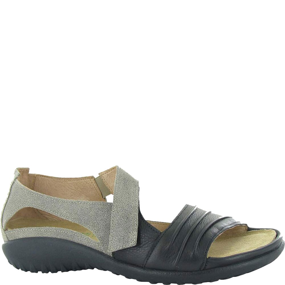 Image for Naot Women's Papaki Sandals - Speckled Beige/Black from elliottsboots
