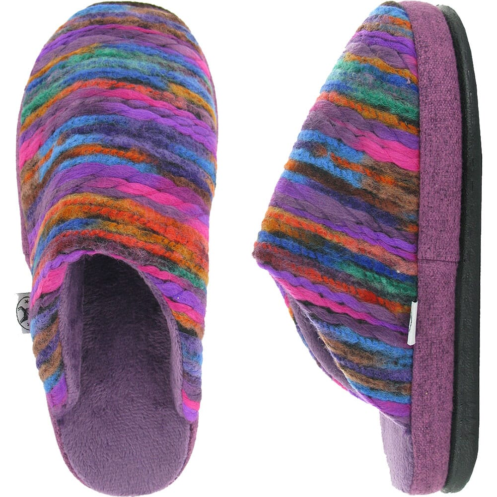 Image for Naot Women's Recline Slippers - Purple/Orange/Blue from bootbay