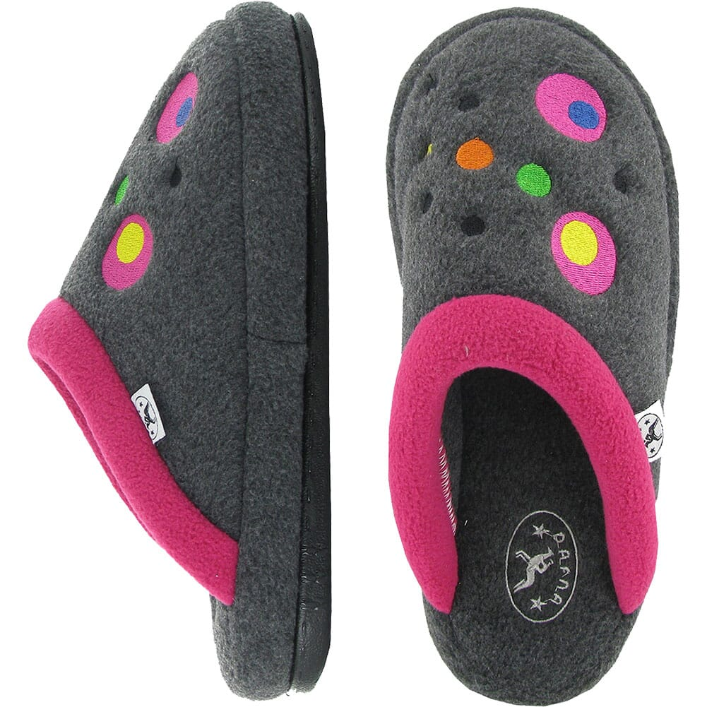 Image for Naot Women's Recline Slippers - Gray/Pink from bootbay