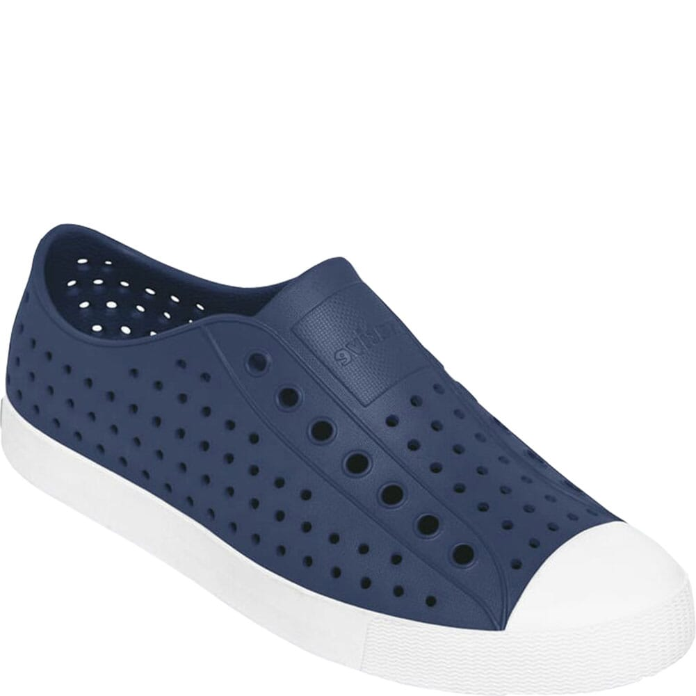 Image for Native Unisex Jefferson Casual Shoes - Regatta Blue from bootbay