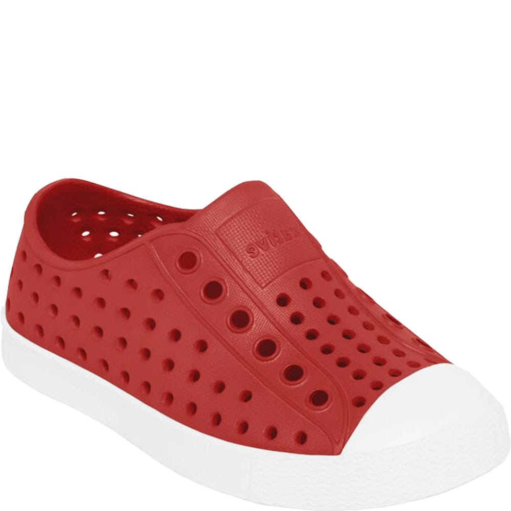 Image for Native Kid's Jefferson Junior Casual Shoes - Touch Red from elliottsboots