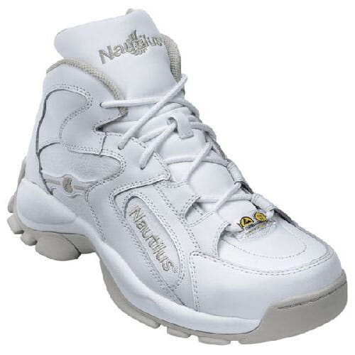 Image for Nautilus Men's Athletic ESD Safety Boots - White from bootbay