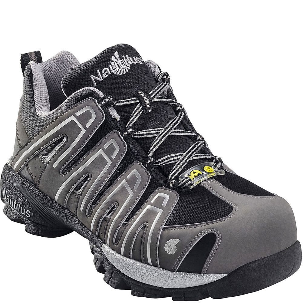 Image for Nautilus Men's Composite Toe SD Safety Shoes - Grey from bootbay