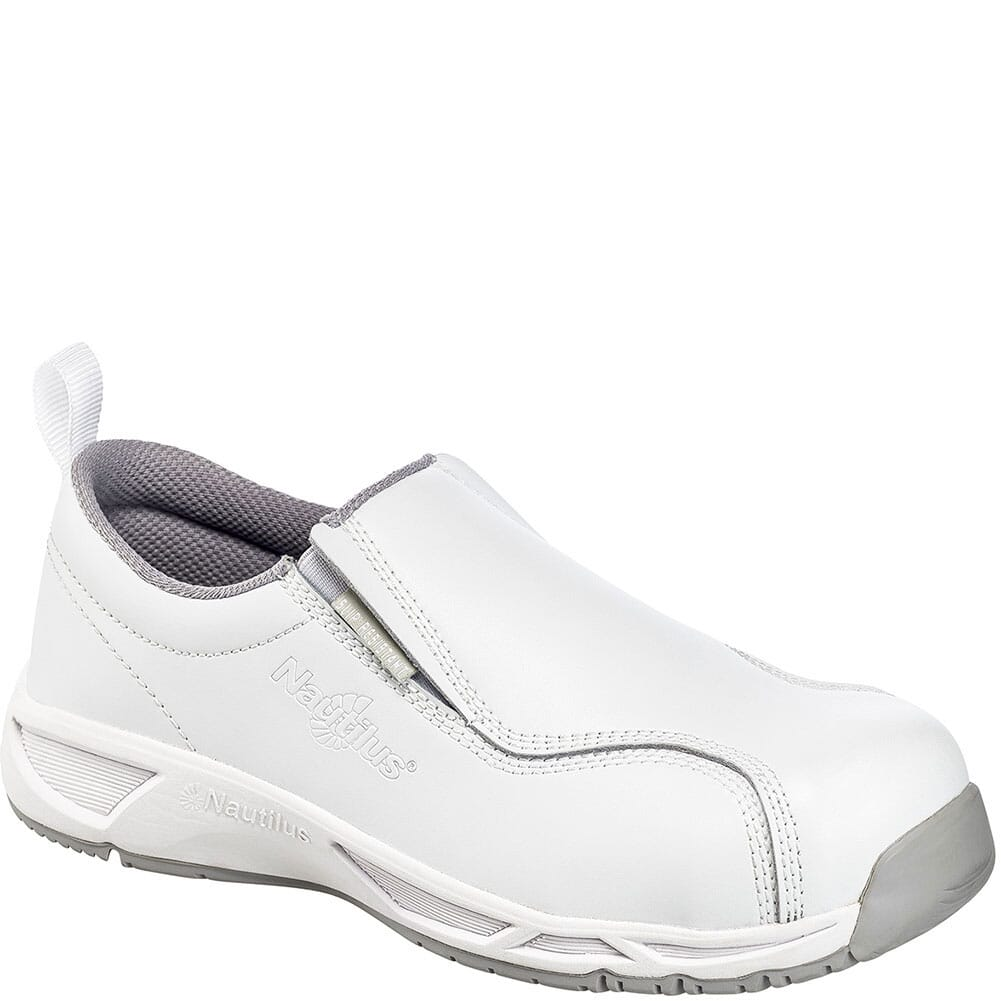 Image for Nautilus Men's ESD Safety Shoes - White from bootbay