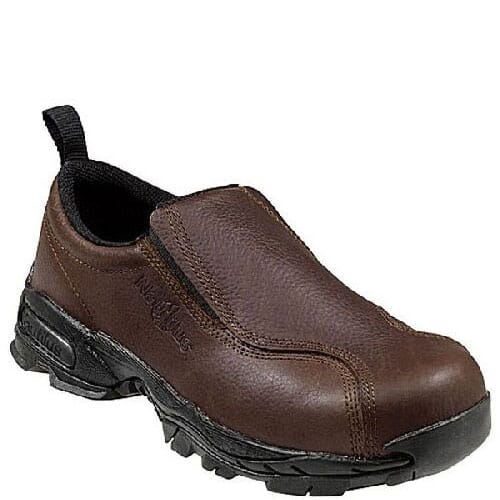 Image for Nautilus Women's Steel Toe Safety Shoes - Brown from bootbay