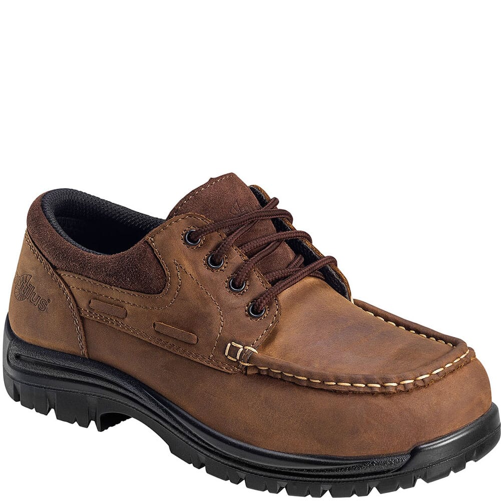 Image for Nautilus Men's EH Moc Toe Safety Shoes - Brown from bootbay