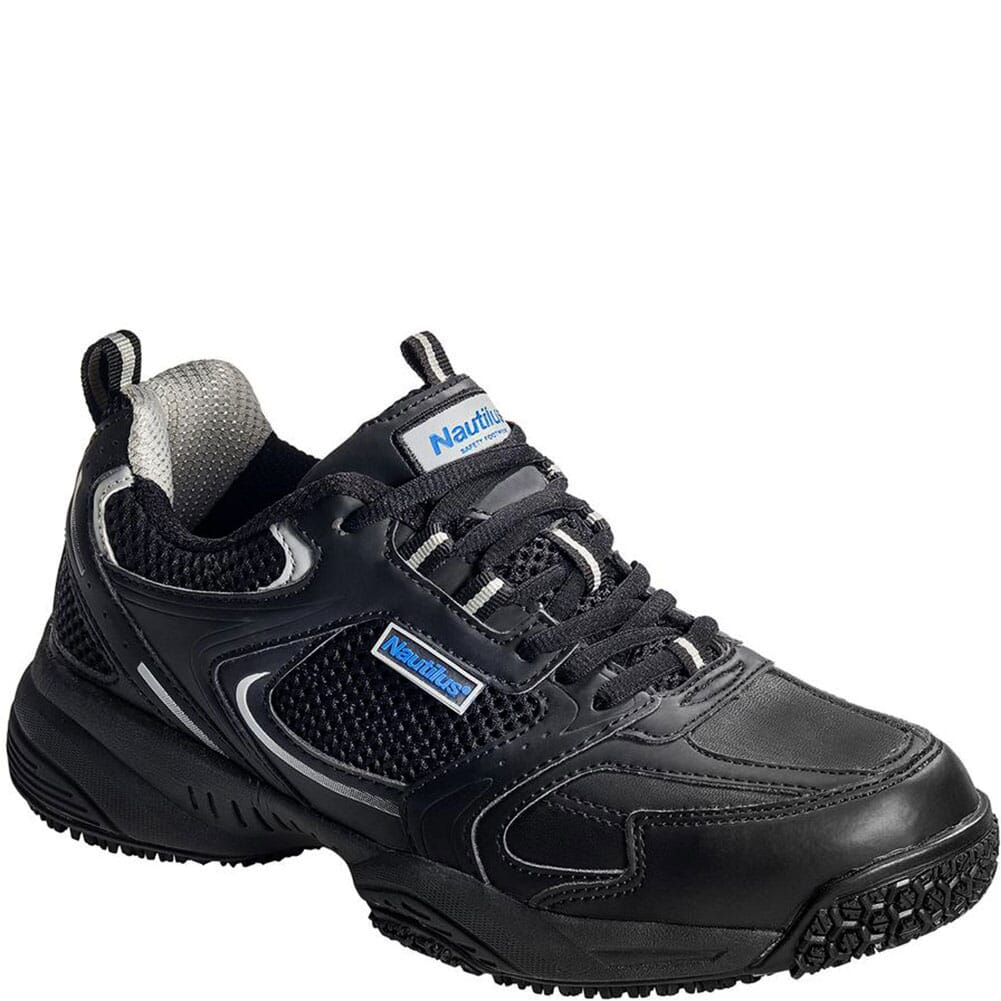 Image for Nautilus Men's Steel Toe Slip Safety Shoes - Black from bootbay