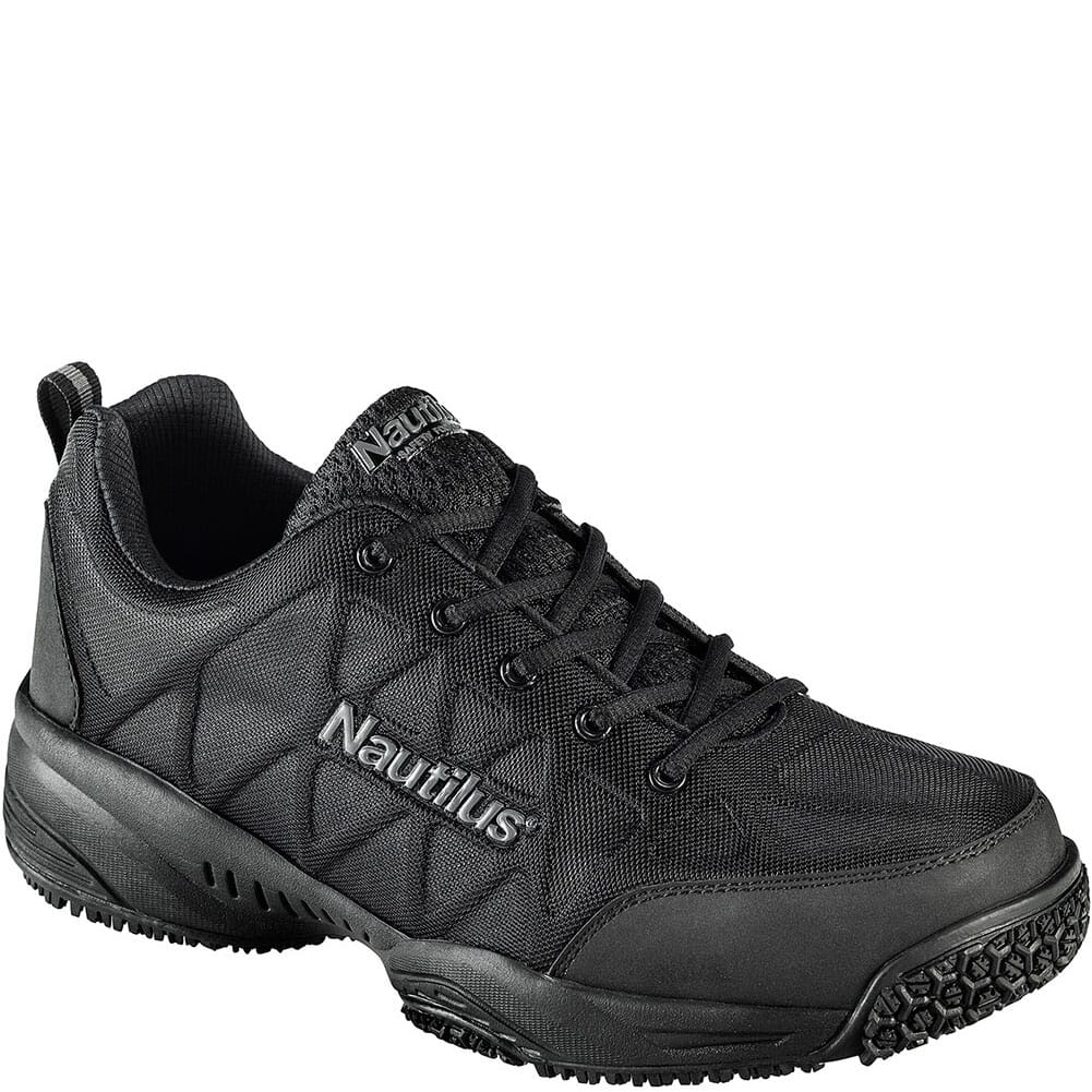 Image for Nautilus Men's Slip Resistant  Safety Shoes - Black from elliottsboots