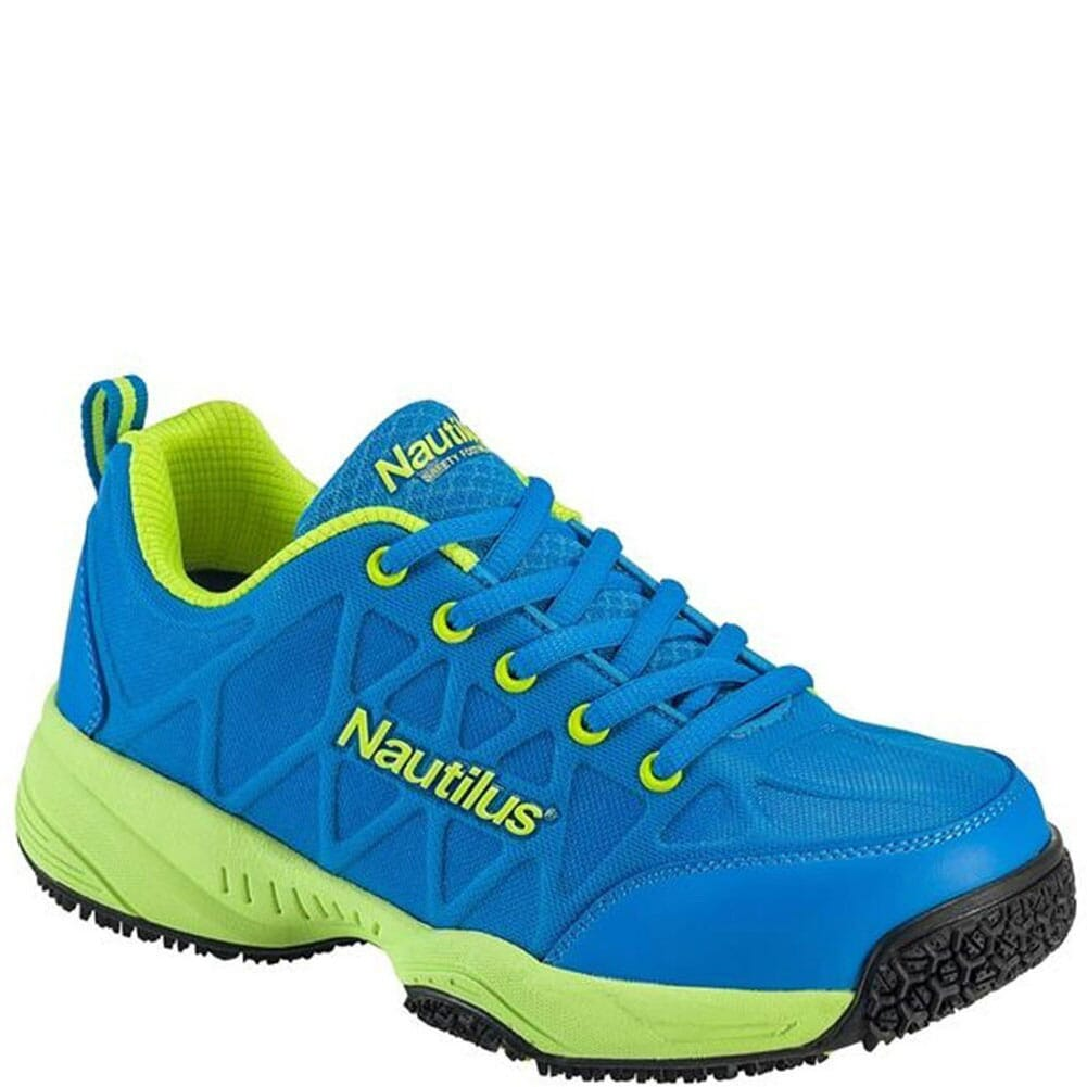 Image for Nautilus Women's SR Comp Toe Safety Shoes - Blue/Lime from bootbay