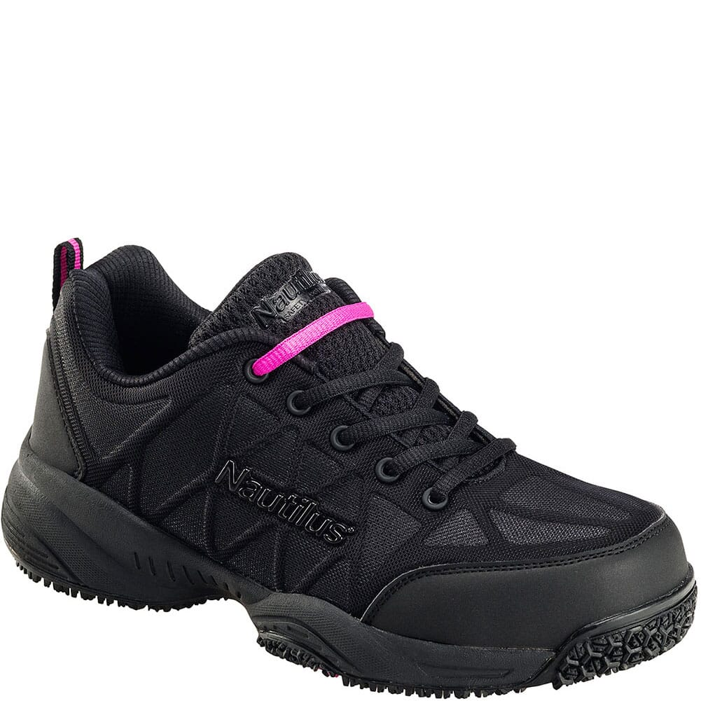 Image for Nautilus Women's Comp Toe Safety Shoes - Black from bootbay