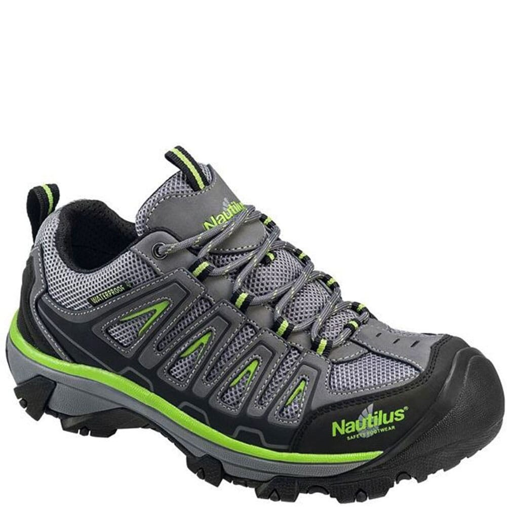 Image for Nautilus Men's ST WP Safety Shoes - Gray/Lime from bootbay